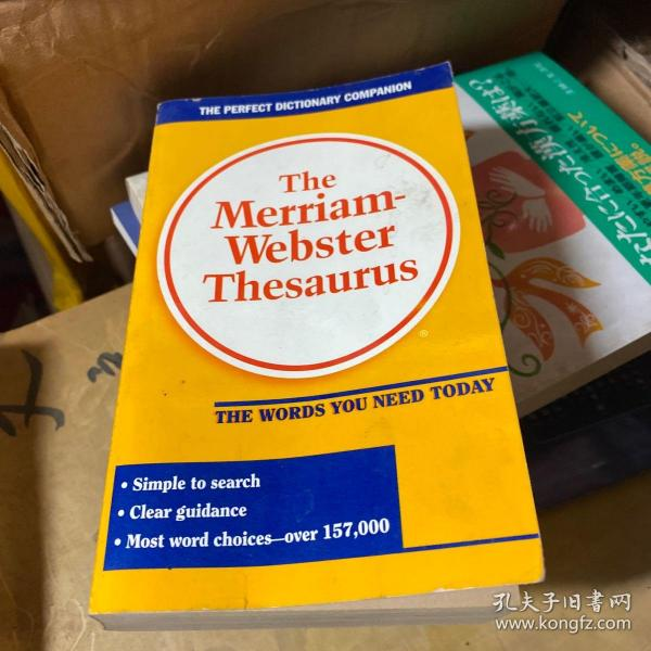 The Merriam Webster Thesaurus