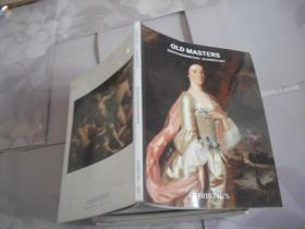 CHRISTIE`S OLD MASTERS  2017
