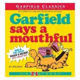 加菲猫漫画 Garfield Says A Mouthful