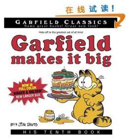 加菲猫漫画 Garfield Makes It Big