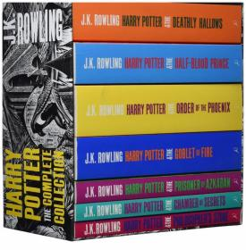 哈利波特1-7套装 全集 Harry Potter Boxed Set: The Complete Collection Adult Paperback