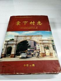 C103212 棠下村志--广州市天河区村志系列丛书之二(书内有水渍彩页粘连,书边有污渍)【一版一印】