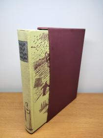 The Folio Book of Humorous Anecdotes 锁线精装带函套 数十幅插图