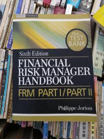 包邮 Financial Risk Manager Handbook 英文原版 财务经理风险手册