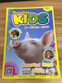 Monthly KIDS 二十一世纪英文报.少儿画刊2019年2期