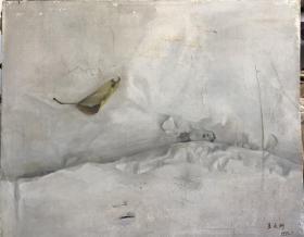 9-25 带框 中央美术学院油画系毕业。