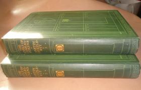 1892年 Dickens :Martin Chuzzlewit 狄更斯《马丁•翟述伟》珍贵珂罗版彩色插图本2册全 布面烫金品佳