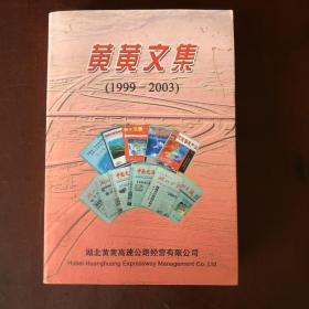 黄黄文集(1999-2003)