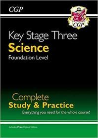 New KS3 Science Complete Study & Practice - Foundation (with