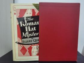 埃勒里奎因签本 奎因签名 题签版 罗马帽子之谜 1979年出版 全球限量250册 本书编号20 奎因两兄弟之一丹奈 亲笔题签 :祝贺我第一次签赠给你之25周年。另外内含一封写满内容的明信片,也是出自丹奈之笔。本册品相不错,保存完好