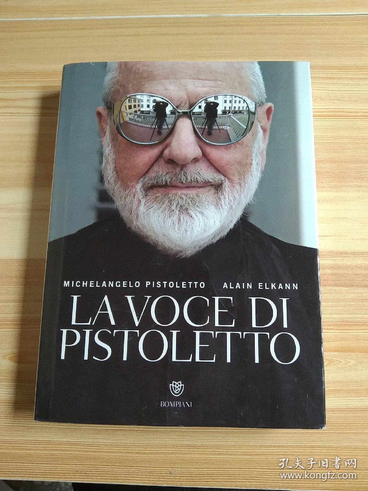 LAVoce DlPistoletto 皮斯特莱托之声