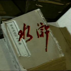 原盘电视剧1983水浒传山东版 40集全 盒装14碟 DVD5光盘碟片