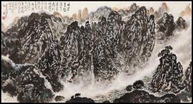 中国美院国画系教授,中国美术家协会会员【周沧米】山水