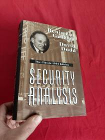 Security Analysis: The Classic 1934 (小16开,硬精装)   【详见图】