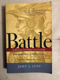 Battle: A History Of Combat And Culture(英文原版)