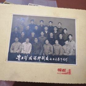 老照片:贵工学友锡都战友1965年春节合影