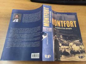 Montfort:La Lutte dn Peuple 法文原版、彩图插页本