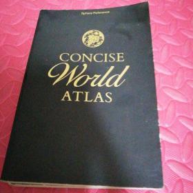 concise world atlas简明世界地图