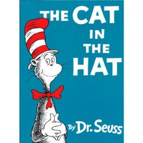 The Cat in the Hat (Beginner Books) [Hardcover] by Dr. Seuss 苏斯博士:戴高帽子的猫(精装)