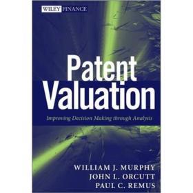 Patent Valuation: Improving Decision Making through Analysis专利估价:通过分析改善决策(丛书) 英文原版