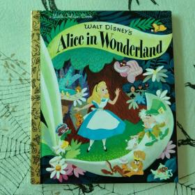 a little golden book: Walt Disney's Alice in Wonderland