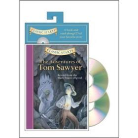 Classic Starts Audio: The Adventures of Tom Sawyer   Book + CD or DVD    马克·吐温:汤姆索亚历险记