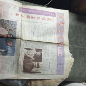 解放军报周未版试刋1993年7月31日第五,六版