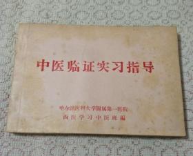 《中医临证实习指导》