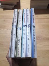 大江健三郎作品集:个人的体验,万延元年的足球队,性的人,广岛札记,死者的奢华 (全5册)