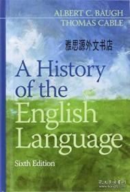 【包邮】A History Of The English Language