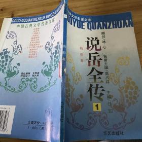 中国古典文学名著文库 说岳全传1