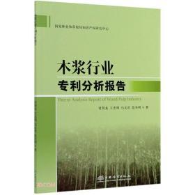 木浆行业专利分析报告