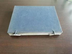 线装一函一大厚册  日本昭和九年年(1934)珂罗版画册    日本美术院第廿一回展览会图录 重约1.3公斤