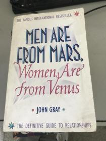 正版现货!Men are from Mars, Women are from Venus 9780007152599