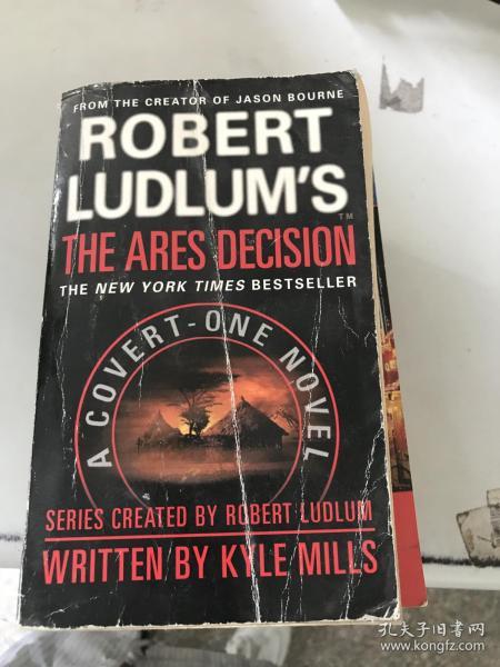 正版现货!Robert Ludlum's The Ares Decision (Covert-One series)9780446618786