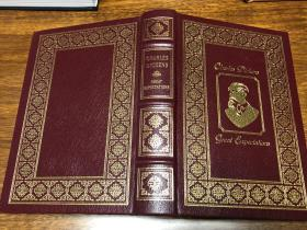 Great Expectations Easton Press 真皮精装收藏版, 书口三面刷金(22k黄金) 能保存数百年的存档级别的无酸纸