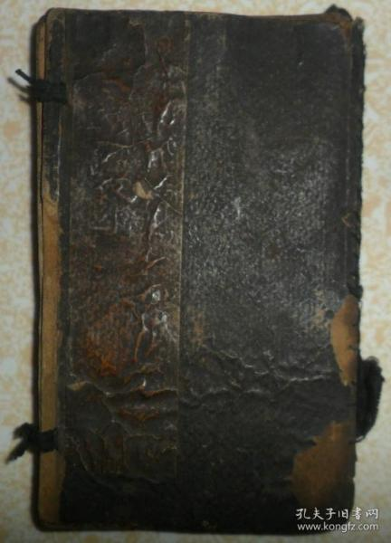 民国线装石印鼓词小说、【绣像千里驹】、一函四册、完整齐全。