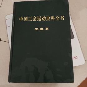 中国工会运动史料全书(安徽卷)