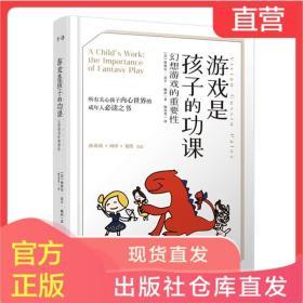 正版 游戏是孩子的功课 幻想游戏的重要性 3-6-9岁孩子家长幼儿园老师需读的儿童教育书籍 关心孩子的内心世界 千寻寓教于乐哲学