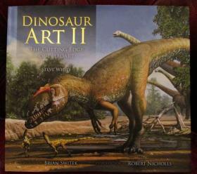 预售恐龙艺术画集第二部Dinosaur Art 2