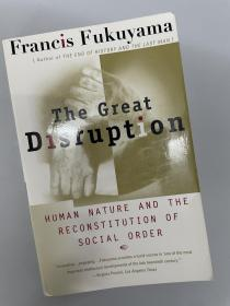 The Great Disruption(弗朗西斯. 福山,大分裂,签名本)