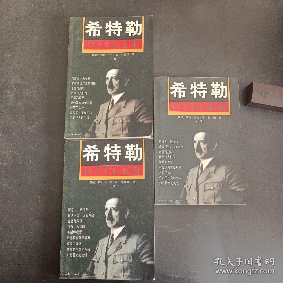 希特勒(上中下):最新版修订本