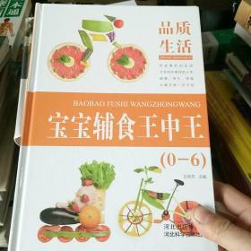 品质生活 宝宝辅食王中王0-6岁(精装)