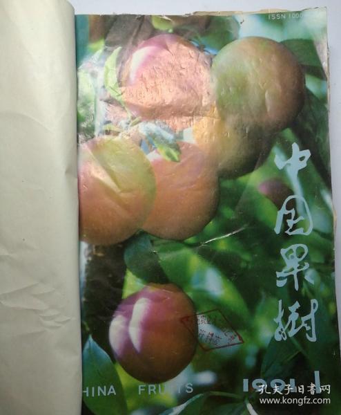 中国果树(季刊)  1991年(1-4)期  合订本   (馆藏)