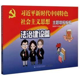习近平新时代中国特色社会主义思想主题墙报板报(法治建设篇)