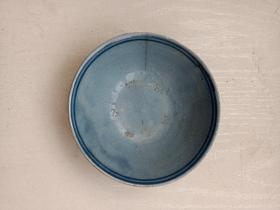 清代或民国,瓷器,瓷碗一只,有冲!详情见图以及描述。