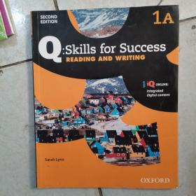 Q:Skills for Success: Reading and Writing(1A)  全新如图