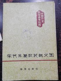 中学历史教学挂图:宋代主要农民起义图