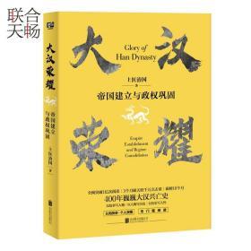 正版现货  大汉荣耀 帝国建立与政权巩固 上医治国著 趣味历史普及中国历史类书籍畅销书