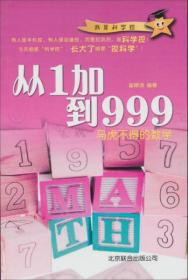 二手正版 从1加到999:马虎不得的数学 9787550210639